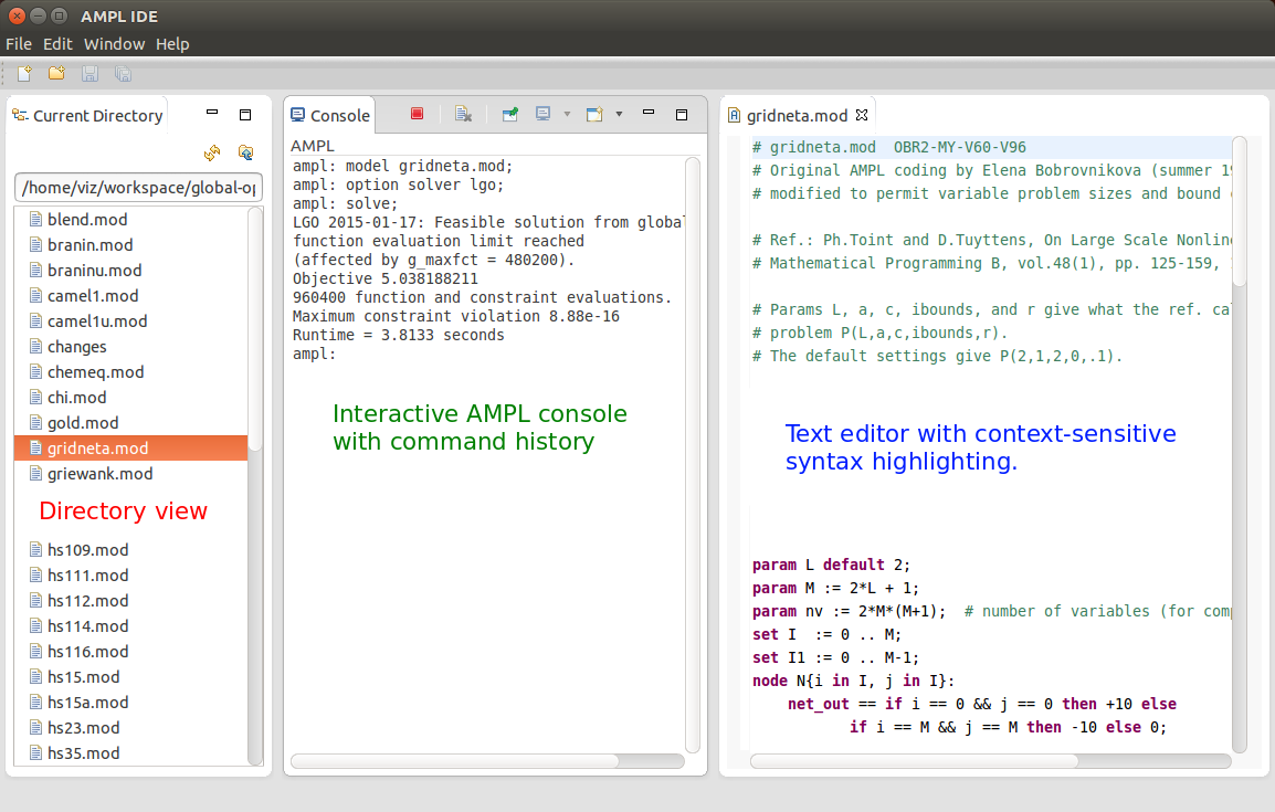 Update on AMPL Programming and Solver Interfaces